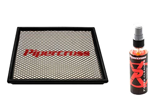 Pipercross Luftfilter+Reiniger kompatibel mit Opel Astra G Coupe/Cabrio OPC 2.0i Turbo 190/192/200 PS 09/00-10/05