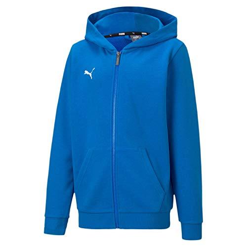 PUMA Jungen teamGOAL 23 Casuals Hooded Jacket Jr Trainingsjacke, Electric Blue Lemonade, 176