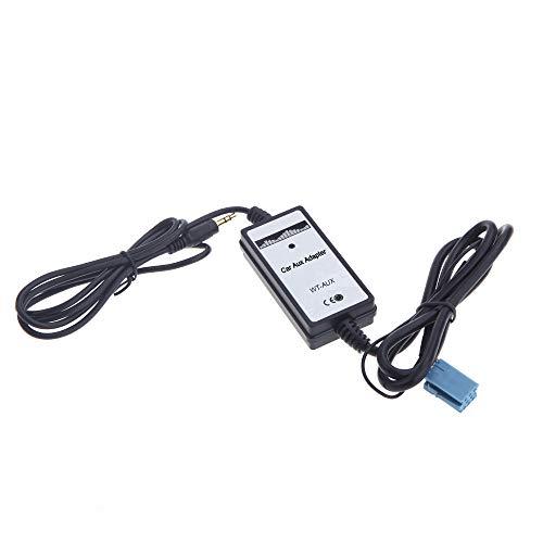 Kshzmoto MP3 reproductor Radio interfaz Aux-in adaptador de coche para coro concierto Sinfonía