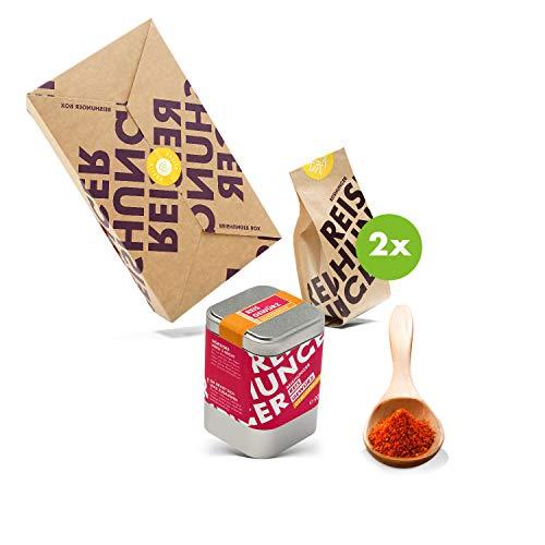 Reishunger Paella Box - Original Spanische Zutaten für traditionelle Paella (200g/5g/100g) Reissorte: Bomba – Ideal auch als Geschenk
