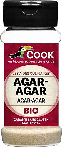 Agar agar bio en polvo Cook 55 g