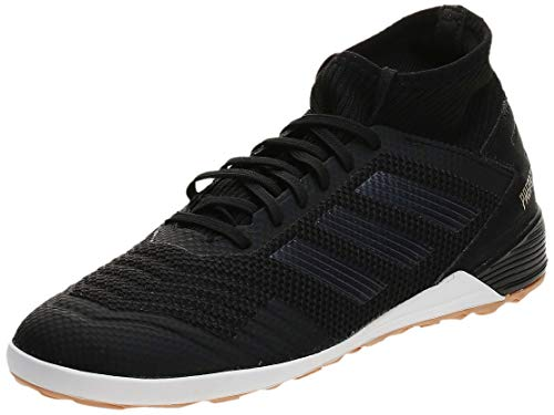adidas Herren Predator 19.3 IN Fußballschuhe, Mehrfarbig (Core Black/Core Black/Gold Met. F35617), 45 1/3 EU