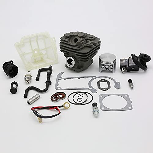 47MM cilindro pistón bobina de encendido bujía kit de junta ajuste para STIHL MS361 MS 361 Motosierra repuestos