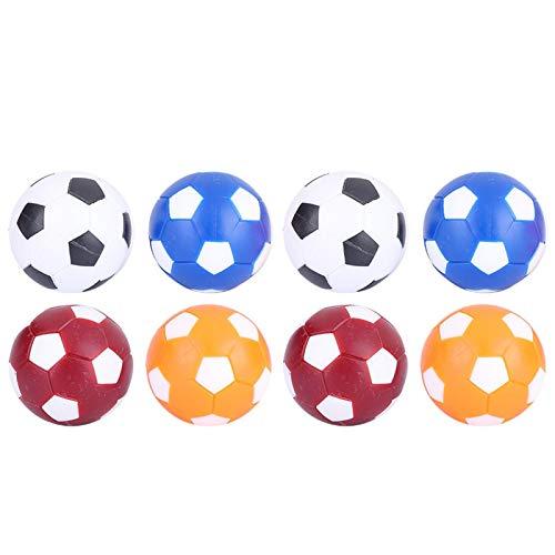 DAUERHAFT Material Caucho Mini Futbolines de Mesa Pelota de fútbol Pelota de fútbol Juguetes Durables, para Interiores, para Juegos o para Contar