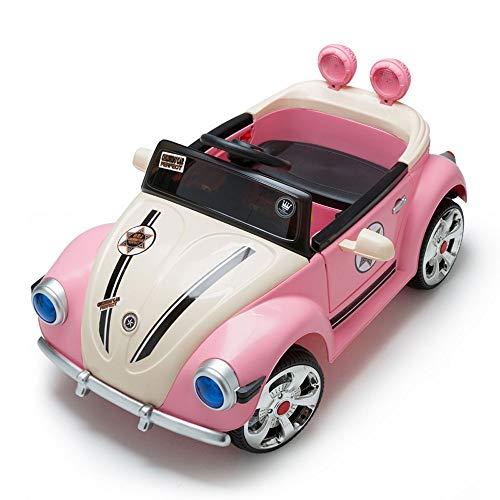 Lihgfw Bambini Electric Car a Quattro Ruote di Ricarica for Auto può Sedere Persone Telecomando Bambini dell'automobile del Giocattolo dell'automobile del Bambino della Ragazza 1-3-6 Anni
