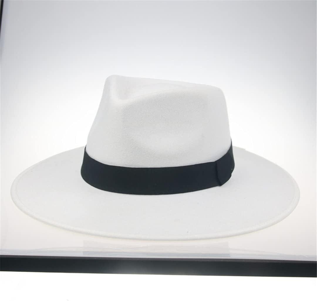 Ladies Fedora Hat Big Brim 9.5Cm Over item handling ☆ Fe trend rank Outdoor Formal Panama Ribbon