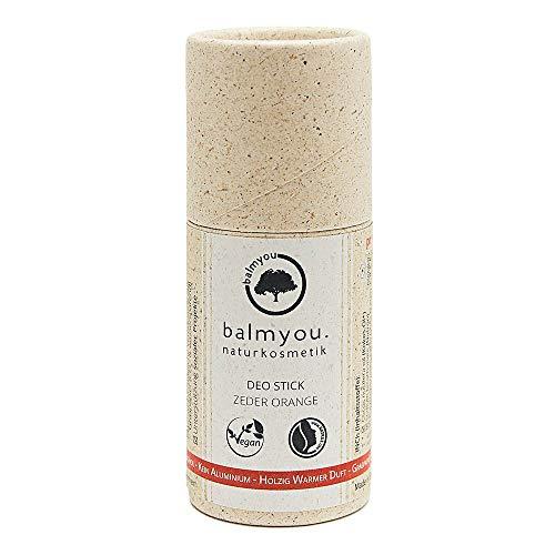 Desodorante en barra – cedro naranja 50 g