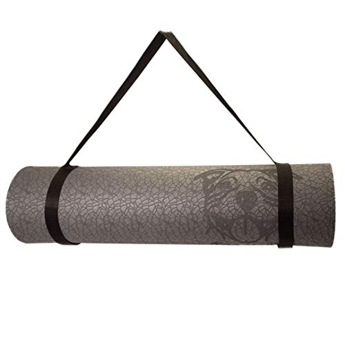 Koa Yoga Mat-Essential, Gray - Eco-friendly, High Density Padding & Easy to Clean Textured Mat with Donation to Charity with purchase!