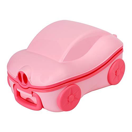 Glenmore Vasino Viaggio Potty Portatile Bambini WC Pieghevole Rosa