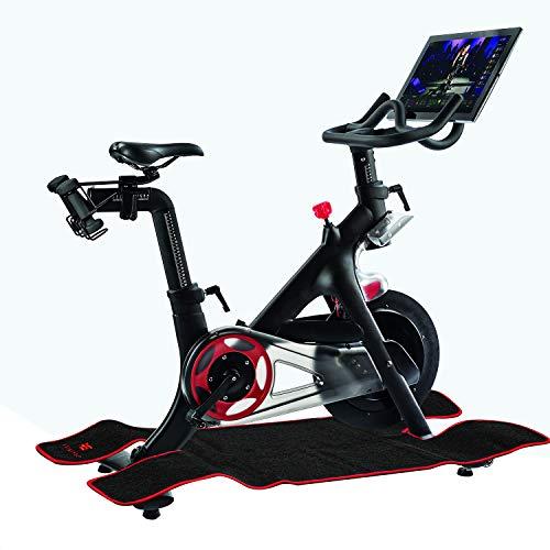 Heavy Duty Indoor Anti-sweat Mat Compatible with Peloton Bike and Bike +