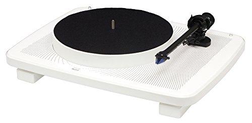 Sale!! Music Hall Ikura Split-Plinth Design Belt Driven Turntable (Gloss White)