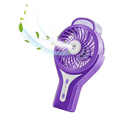 Misting Fan Portable Handheld Water Spray Fan Cooling Fan