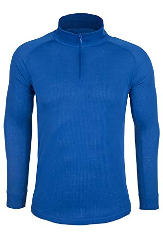 Mountain Warehouse Talus Mens Thermal Baselayer Top – Quick Drying Winter Jumper, Easy Care, Long Sleeves, Sweater, Breathable, Lightweight & High Wicking