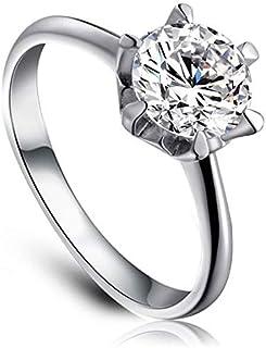 خاتم الاعراس 301019615 925 من الفضة الاسترليني من روكسي-6 EU