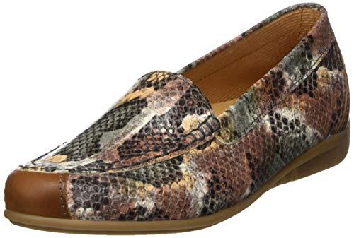 Gabor Shoes Damen Casual Slipper, Grün (Khaki-Kombi 31), 42 EU