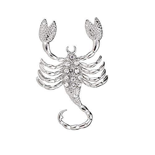 lffopt Imperdibles Broches Ropa Broche de Collar Broche de Cristal Broche para...