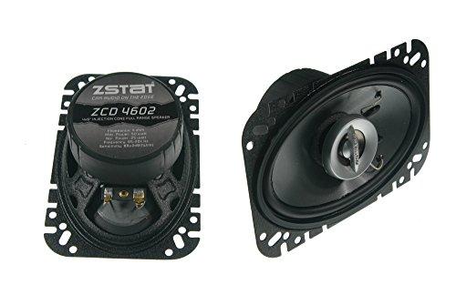 ZSTAT ZCD4602-50 Watts - 4x6-Inch Car Speakers
