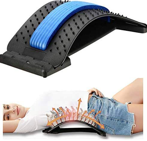 gift Lumbar Back Pain Relief Stretcher Device Posture Deluxe Co