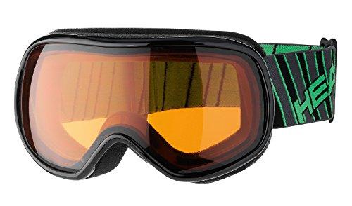 HEAD Kinder Brille Ninja, Black/Green, One Size