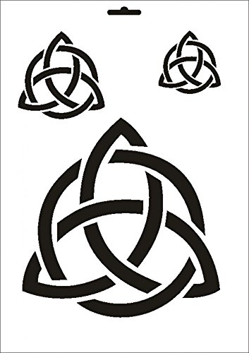 UMR-Design W-187 Celtic Wand / Textilschablone Grösse A3
