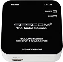 Sescom SES-Audio-N-HDMI HDMI Audio Inserter