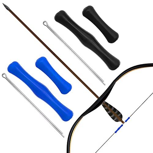 Protector de Dedos de Tiro con Arco, Tiro con Arco Protector de Dedo Cuerda de Dedo pestaña de Silicona