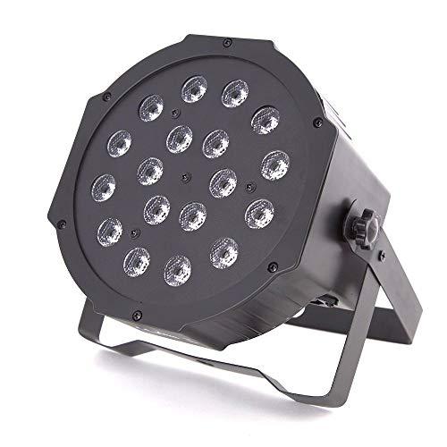 ETEC LED Flat PAR 56 Scheinwerfer 18x3 Watt RGB - Party Disco Leuchten DJ Club