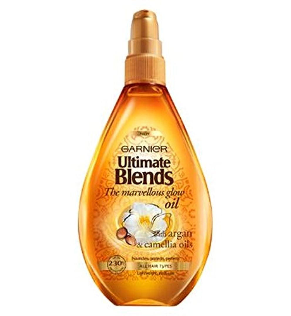 千れる巻き取りガルニエ究極は素晴らしいグローオイル150ミリリットルをブレンド (Garnier) (x2) - Garnier Ultimate Blends Marvellous Glow Oil 150ml (Pack of 2) [並行輸入品]