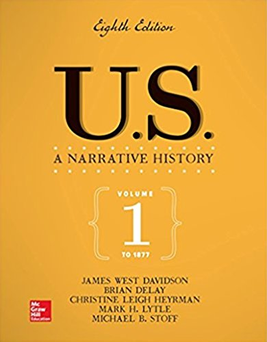 US: A Narrative History Volume 1: To 1877, Loose-leaf