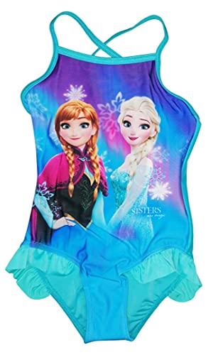 Die Eiskönigin Badeanzug, Mädchen, 1 Stück, Blau Gr. 3 Jahre, blau