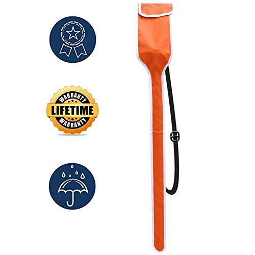 ZBBY 600D Oxford Cloth Fencing Schwert Tasche Fechtausrüstung Double for Foil Sabre Degen Fechtausrüstung 124cm