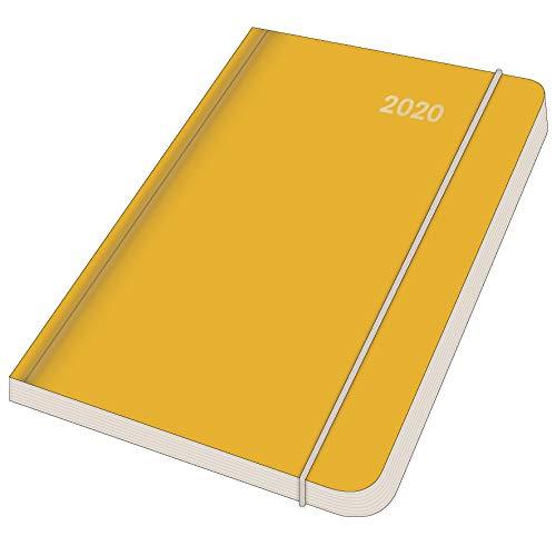 Midi Flexi Diary EarthLine SUN 2020 - Buchkalender - Wochenkalender - Taschenkalender - Notizkalender - Terminplaner - 12x17cm