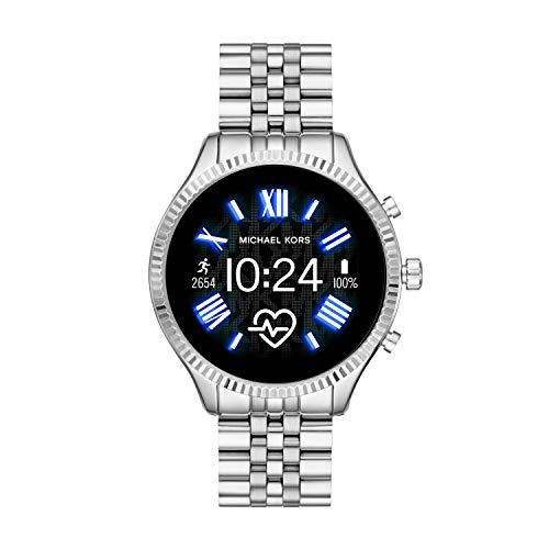 Michael Kors Damen Smartwatch mit Edelstahl Armband MKT5077