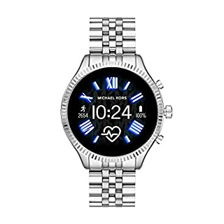Michael Kors Access  Lexington 2 Touchscreen  Stainless Steel  Smartwatch, Silver Tone-MKT5077 (B07TBPV5D6) | Amazon price tracker / tracking, Amazon price history charts, Amazon price watches, Amazon price drop alerts