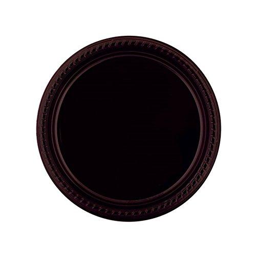 Garcia de pou Assiette De Couleur 23 Cm Noir Ps - 500 unités