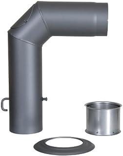 L/änge 500/mm Element Linear T500/Edelstahl Artikel Fumisteria Linie Holz UndPellet Durchmesser 250