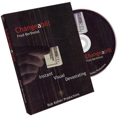 Changeabill by Fred Berthelot - DVD