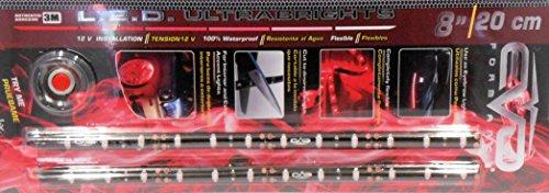 BANDE LED ULTRABRIGHT 20CM - ROUGE - 2PCS