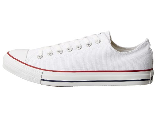 Converse Unisex Chuck Taylor All Star Ox Low Top Classic Optical-white,. Sneakers - 9.5 B(M) US Women / 7.5 D(M) US Men