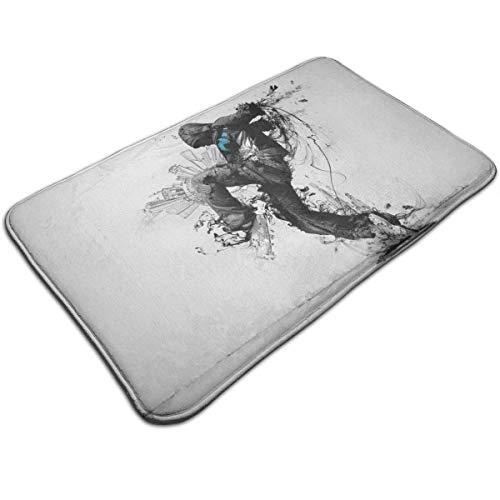 N/A Action Messenger Print deurmat badmat ingangmat vloermat tapijt binnen-/buiten-/badkamermatten antislip
