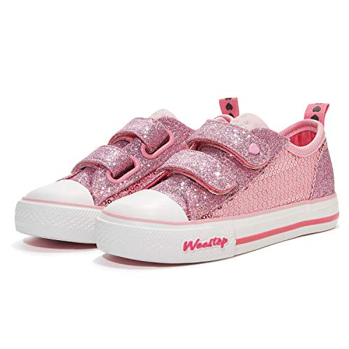 LONSOEN Kids Hi-Top Lace Up Fashion Sneakers Toddler//Little Kid//Big Kid