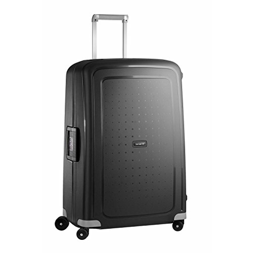 Samsonite S'Cure Hardside Luggage with Spinner Wheels, Black