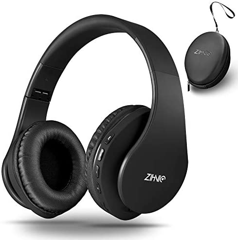 Wireless Bluetooth Headphones Over Ear with Deep Bass Foldable Wireless and Wired Stereo Headset product image