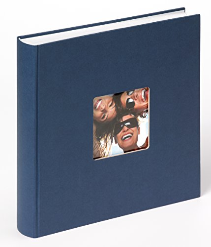Walther design FA-208-L Designalbum Fun, blau, 30 x 30 cm