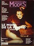 JARDIN DES MODES [No 184] du 01/11/1994 - NIMES - SURF DES NEIGES - J. BONNEMAISON - LA DAME DE BRASSEMPOUY - LE MOIS DE LA PHOTO - J.PAUL GAULTIER PAR PAOLO ROVERSI.
