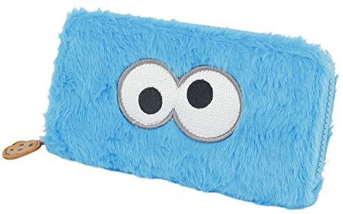 Sesame Street Cookie Monster Donna Portafoglio multicolore 50% poliestere, 50% poliuretano