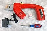 HGB Maschinen und Geräte Akku Knochensäge, elektrische Akku-Rippensäge RS3 Pro mit 1 Ersatzsägeblatt