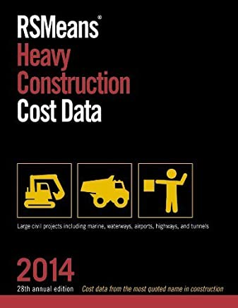 RSMeans Heavy Construction Cost Data 2014 by RSMeans Engineering Department (2013) Paperback