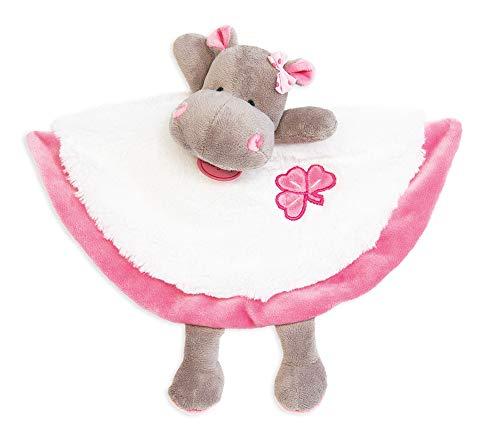 Baby Nat Kuscheltier Zoé das Nilpferd rosa