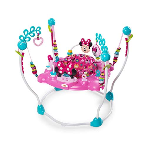 Disney Saltador para bebé Minnie Mouse Rosa Columpio Rebotador Bota Bota K10299